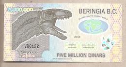 Beringia - Banconota Di Fantasia Non Circolata FDS Da 5.000.000 - 2013 - Non Classificati