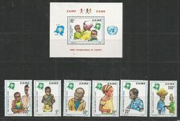 ZAIRE - MNH - Organizations - Children - UNESCO - UNESCO