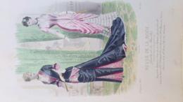 MODE- GRAVURE -GANTS PARFUMERIE NINON-CHAUSSURES BERNIER LAFFON - IMPRIMERIE FALCONER - PARIS - 1880-CHEFFER - Prints & Engravings