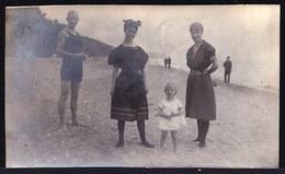 OLD VINTAGE PHOTO 1914 ** DES IMMIGRANTS BELGES AU LAC ONTARIO ** - Toronto