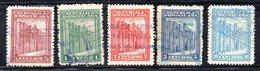 APR2020 - REPUBBLICA DOMINICANA 1930 , Serie Yvert N.  228/232  Usato (2380A) - Repubblica Domenicana
