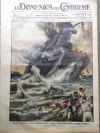 La Domenica Del Corriere 22 Novembre 1914 WW1 Colautti Pane Inglesi Emden Kaiser - Guerra 1914-18