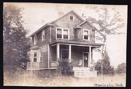OLD VINTAGE PHOTO 1918 ** LA MAISON DES IMMIGRANTS BELGES Au HARRINGTON PARK -  LAC ONTARIO ** - Toronto