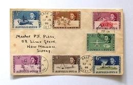 British Antarctic Territory QE II 1968 Halley Bay Baze Z Cover Lettres - Briefe U. Dokumente