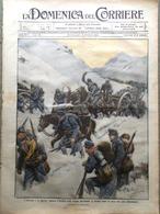 La Domenica Del Corriere 29 Novembre 1914 WW1 Fiandre Parlamento Triplice Intesa - Guerra 1914-18