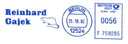 Freistempel 7190 Ratte - Marcophilie - EMA (Empreintes Machines)