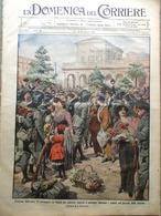 La Domenica Del Corriere 13 Dicembre 1914 WW1 Satta Novelli Romani Turchi Russi - Guerra 1914-18