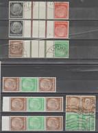 TIMBRES NEUF **/*/ ° / D ALLEMAGNE COMPOSEES 1933/45 Nr VOIR SUR PAPIER AVEC TIMBRES  COTE   50.30  € - Allemagne