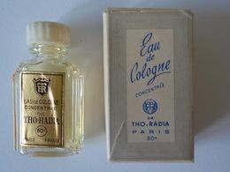 Miniature Pleine Avec Boîte Tho Radia Eau De Cologne - Miniatures Anciennes (jusque 1960)