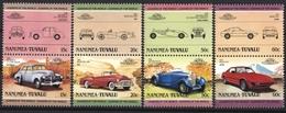 NANUMEA - TUVALU CAR AUTO 4 STAMPS SET MNH 1985 - Auto's