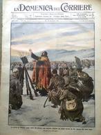 La Domenica Del Corriere 20 Dicembre 1914 WW1 Guerra In Prussia Tedeschi Fiandra - Guerra 1914-18