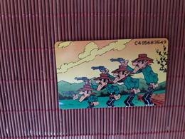 Lucky Luke Phonecard Daltons  (Mint,Neuve) Only 2000 EX  Rare - Comics