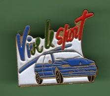 RENAULT CLIO BLEUE *** VIVE LE SPORT *** 1034 - Renault