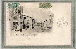 CPA - ESPALY (43) - Aspect De L'Epicerie-Cabaretier Abrial De La Rue D'Espaly En 1900 - Other Municipalities