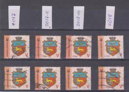 2017 Ukraine 9th Definitive Used Stamps With Colour Varieties - Ukraine