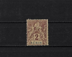 BENIN - N° 34b - NEUF** - Bénin (1892-1894)