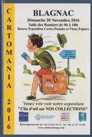 = Cartomania 2016, Bourse Exposition Cartes Postales Et Vieux Papiers, Blagnac, Haute Garonne - Sammlerbörsen & Sammlerausstellungen