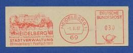 BRD AFS - HEIDELBERG, Stadtverwaltung 1967 - Schlösser U. Burgen