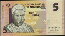 NIGERIA - 5 Naira 2006 UNC P.32 A - Nigeria
