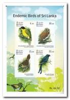 Sri Lanka 2018, Postfris MNH, Birds - Sri Lanka (Ceylon) (1948-...)