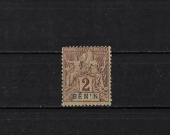 BENIN - N° 34a - NEUF** - Bénin (1892-1894)