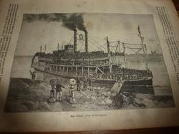 1882 JDV:Les Magnifiques Steamboats Sur L'Ohio ;L'explorateur Jules Garnier Chez Les Cosaques Du Don ;  En Somalie ; Etc - Kranten