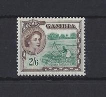"GAMBIA....QUEEN ELIZABETH II.(1952-NOW).."" 1953 ""......2/6.....SG181....MH. - Gambia (...-1964)"