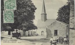 FRANCE - St-HILAIRE-la-TREILLE - Eglise - 1907 - France
