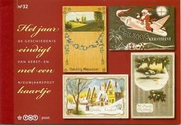 NEDERLAND, 2010, PRESTIGE BOOKLET, PR 32, Decemberstamps, History Of Greeting Cards - Postzegelboekjes En Roltandingzegels