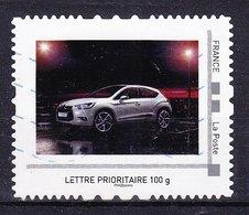 """RARE - MonTimbraMoi Personnalisé """"auto CITROEN"""", Lettre Prioritaire 100g, Oblitéré - MTAM - France"""