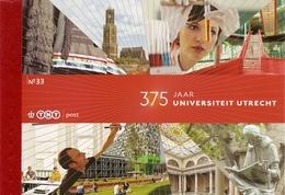 NEDERLAND, 2011, PRESTIGE BOOKLET, PR 33, Utrecht University - Postzegelboekjes En Roltandingzegels
