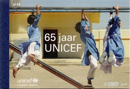 NEDERLAND, 2011, PRESTIGE BOOKLET, PR 34, Unicef 65 Years      Special Offer!! - Postzegelboekjes En Roltandingzegels