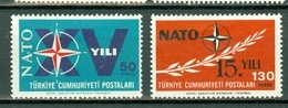 Turkije 1964  Yv & T 1686/87**, Mi 1899/1900**,  MNH - Neufs