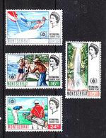 Montserrat - 1967. Turismo: Sports. Vela, Golf, Pesca. Tourism: Sports. Sailing, Golf, Fishing. Complete MNH Series - Golf