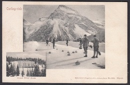 CPA  Suisse, AROSA, Grand Hotel, Curling Rink - GR Grisons