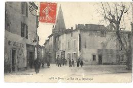 13 BERRE RUE DE LA REPUBLIQUE 1912 CPA  2 SCANS - Francia