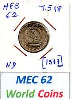 MEC62 - REPUBLICA DE ANGOLA  1 KWANZA N/D [1977] - T.518 - Angola