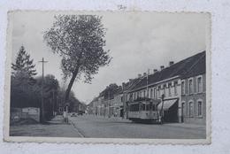 Melle  Cpa Pk  Steenweg Op Brussel Tram !!!!! - Melle