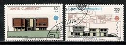 Turkije  1987 Yv 2533/34 (o), Mi 2777/78 (o) - 1921-... République