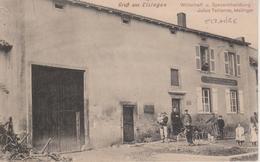57 - ELZANGE - RESTAURANT JULIUS TEITIENNE - CARTE RARE - France