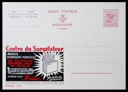BELGIQUE ENTIER CP PUBLIBEL N° 2145 .FRIAC . CENTRE DE SURGELATEUR MARCEL VERDOODT - PONCELET    . NEUF - Stamped Stationery