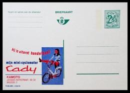 BELGIQUE ENTIER CP PUBLIBEL N° 2394 N . CADY . MIJN MINI  CYCLOMOTOR . KAMOTO   . NEUF - Stamped Stationery