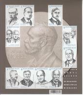 2016 Belgium Nobel Prize Winners  Souvenir Sheet MNH @ BELOW FACE VALUE - Premio Nobel