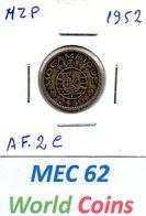MEC 62 - COLONIA MOCAMBIQUE PORTUGUES 2,50 ESCUDOS 1952 - AF.2C - Mozambique