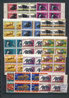 RUANDA URUNDI ANIMALS SET COB 205/216 + 224 + 216A/B MNH - 1948-61: Neufs