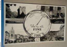 We're All Fine At Cork Blarney Castle Gran Parade Kissing The Blarney Stone Patrick Street E Hill - Cork