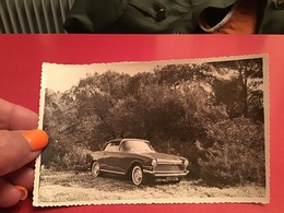 Photo Noir Et Blanc à Bord Blanc  Voiture Simca Sport 1959 Voiture Ancienne Zeralda - Lieux
