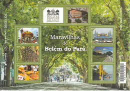 2016 Brazil Brasil Belem Culture Theatre Dancing  Miniature Sheet Of 8 MNH - Brasile