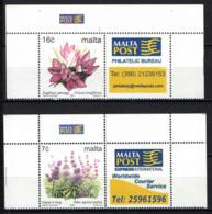 MALTA - 2005 - Flowers - MNH - Malta