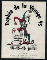 Etiquette De Vin // Morges, Trophée De La Venoge 95, Jeunesse Bremblens-Romanel - Other